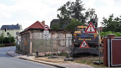 Fotoalbum Abriss eines Wohngebäudes