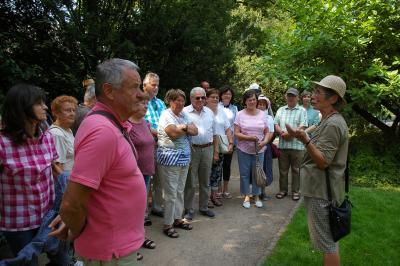 Fotoalbum Gartenreise der Rosenfreunde 2018: Arboretum Ellerhoop-Tiensen