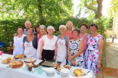 Fotoalbum Platanencafe zum Margarethenfest mit geöffneter Kirche, Turmbesteigung & Flohmarkt