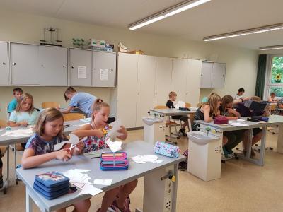 Fotoalbum Projekttag zum Brandenburgtag