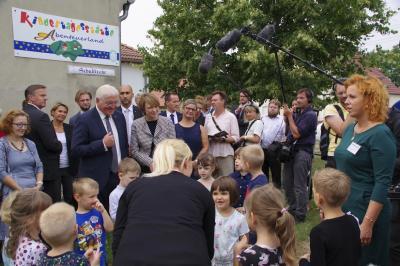 Foto des Albums: Bundespräsident zu Besuch (24.08.2018)