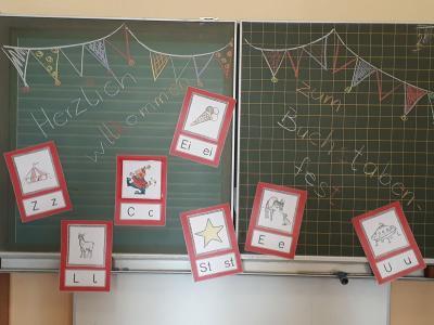 Fotoalbum Buchstabenfest in den ersten Klassen