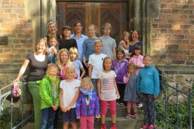 Fotoalbum Gottesdienst zum Schuljahresbeginn in der Stadtkirche