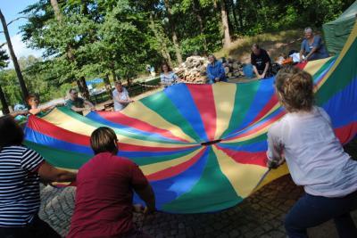 Fotoalbum Ausflug der AWO Eingliederungshilfe in das Karstädter Freibad