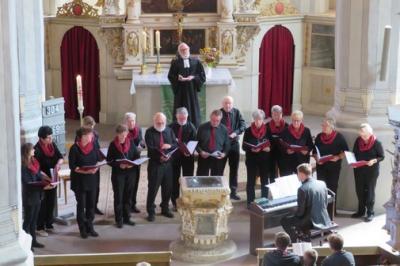 Fotoalbum Festgottesdienst zum 140jährigen Bestehen des Chores Lyra