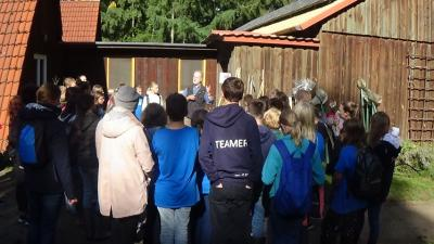 Fotoalbum Wassercamp 2018 mit Renaturierung im Wildpark Eekholt