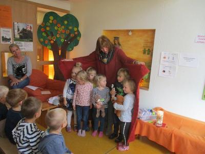 Fotoalbum Segens- und Willkommensfeier für die Kindergartenneulinge 2018