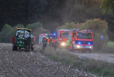 Fotoalbum Angenommener Waldbrand - Feuerwehraktionswoche 2018