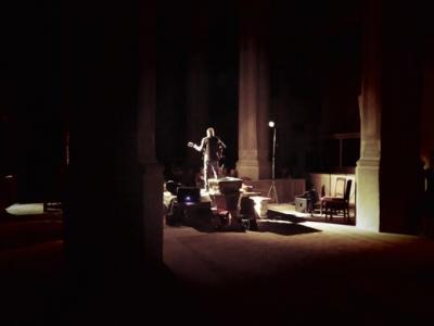 Fotoalbum RAY COOPER, der Schotte, welcher in Schweden lebt und in der Bad Schmiedeberger Kirche spielt. Feine folkige Musik mit Cello, Gitarre, Mandoline, Mundharmonika und Gesang
