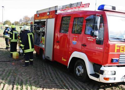 Fotoalbum Feuerwehreinsatz