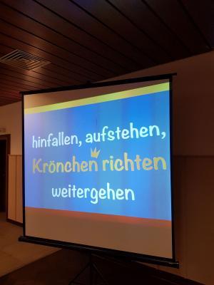 """Fotoalbum Landfrauenverein Lohne - """"Hinfallen, aufstehen, Krone richten und weitergehen"""" am 18.10.2018"""