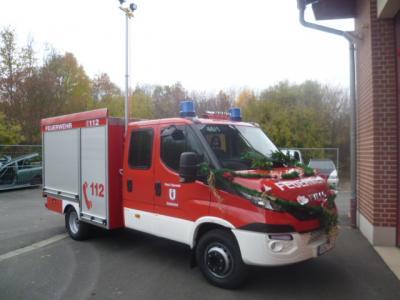 Fotoalbum Fahrzeugweihe mit Schlüsselübergabe TSF-W