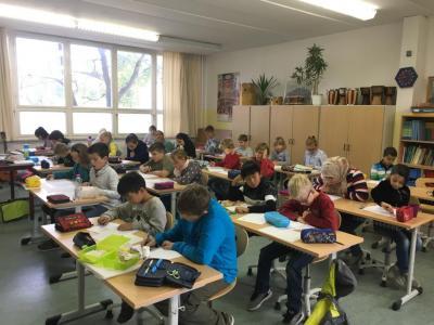 Fotoalbum 1. Runde der Mathematikolympiade