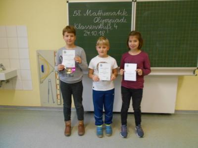 Fotoalbum Gewinner der Mathe - Olympiade