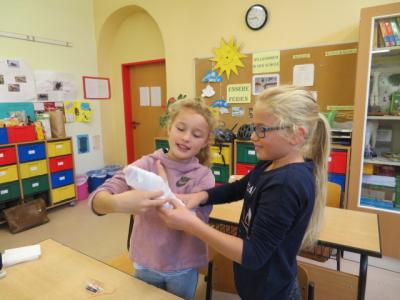 Fotoalbum Präventionstag in Klasse 3 und 4