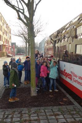 Fotoalbum Busschule mit Teddy für die Kleinen