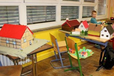Fotoalbum Häuserbau im Sachunterricht