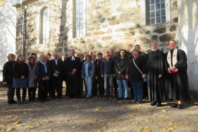 Fotoalbum Dr. Christoph Gramzow wird in der Kirche zu Trebitz als Pfarrer der Pfarrbereiche Bad Schmiedeberg-Pretzsch in einem Festgottesdienst eingeführt