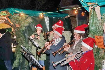 Fotoalbum Weihnachtsmarkt der Gemeinde Rastow