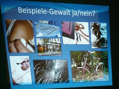"""Fotoalbum Projekttag """"Gegen Gewalt"""""""