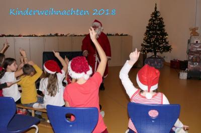 Fotoalbum Kinderweihnachtsfest bei Blau-Weiß
