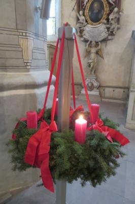 Fotoalbum Gottesdienst zum 1. Advent unter Mitgestaltung von Konfirmanden und des Musikkreises