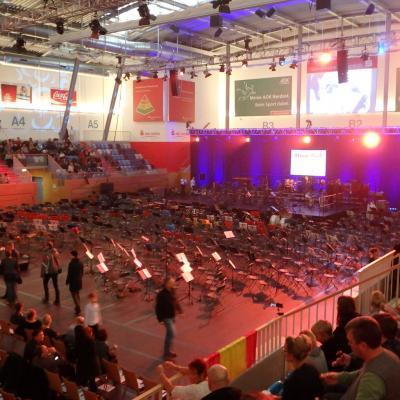 Fotoalbum Auftritt der Bläserklassen in Potsdam