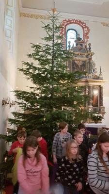 Fotoalbum Schülerversammlung in der Kirche Oberottendorf