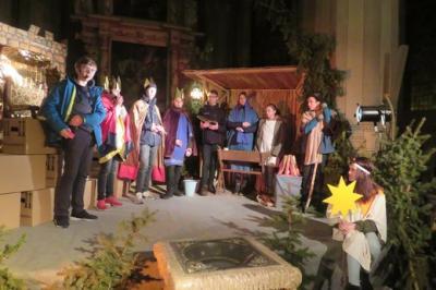Fotoalbum Proben für das Krippenspiel zur Christvesper am Heiligen Abend
