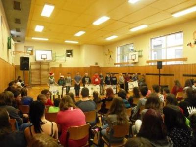 Fotoalbum Schulfeier der Aras und Pumas