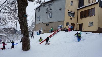 Fotoalbum Action im Schnee!