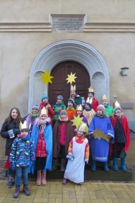 Fotoalbum Die Sternsinger unterwegs in Bad Schmiedeberg