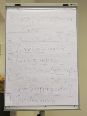 Fotoalbum LEB-Projekt Klasse 9/1