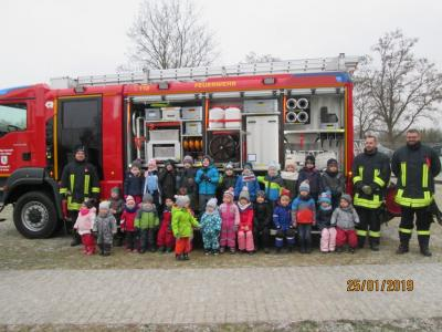 Foto des Albums: Besuch der Feuerwehr (21.01.2019)