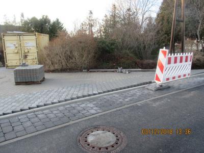 Fotoalbum Ludwigsfelde, R.-Breitscheid-Straße, 2. und 3. BA, Straßenbau und Regenentwässerung