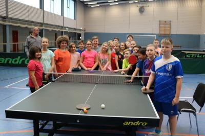 Fotoalbum Tischtennis-Mini-Meisterschaft