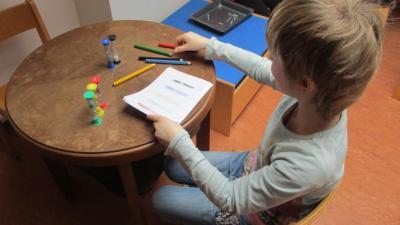 Fotoalbum Besuch in der Zahlenwerkstatt im Kindergarten Scheden