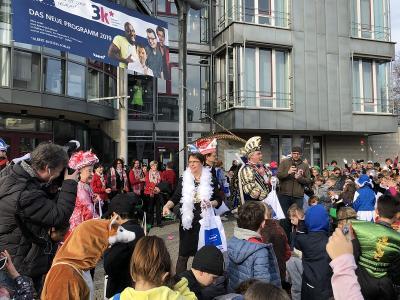 Fotoalbum Karneval an der MCS 2019