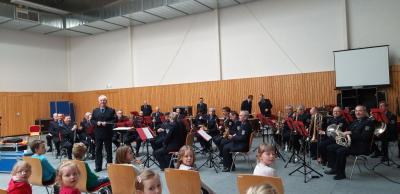 """Fotoalbum """"Emotionen in Blau"""".. das Landespolizeiorchester Brandenburg in der Karthanehalle"""