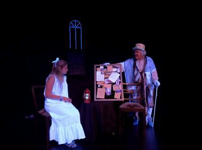 Fotoalbum Das Gespenst von Canterville - romantischer Theaterspuk im Zauberlicht