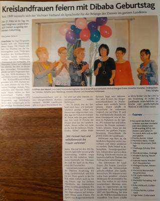 Fotoalbum Kreislandfrauentag Jubiläum 70 Jahre