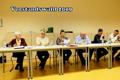 Fotoalbum Mitgliederversammlung zur Wahl des Vorstandes
