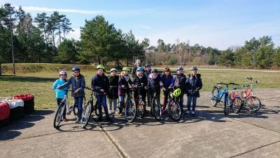 Fotoalbum Exkursion der Klasse 4 zum Verkehrsgarten nach Perleberg
