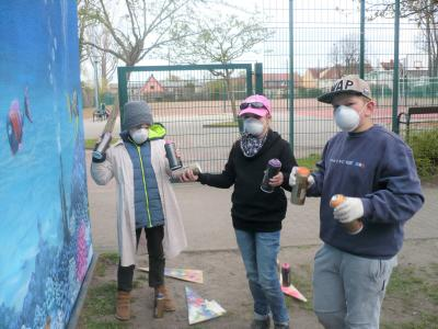 Fotoalbum Graffiti - Projekt