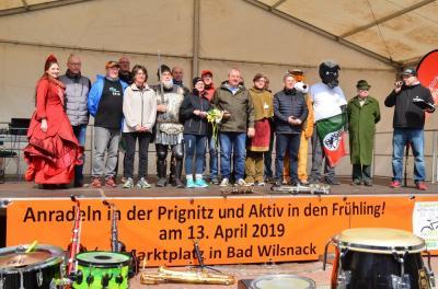 Fotoalbum Anradeln 2019 - 18. Sternfahrt nach Bad Wilsnack