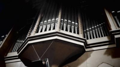 Fotoalbum Orgelvesper zur Osterzeit mit Kantor Otto Bernhard Glüer in der Stadtkirche