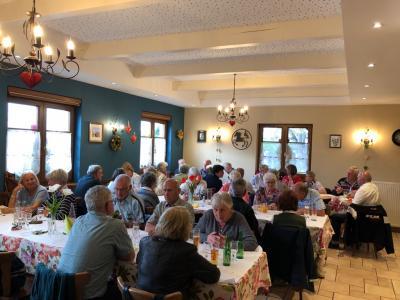 Fotoalbum Écomusée und Flammkuchen essen in der Auberge Fritsch in Kogenheim