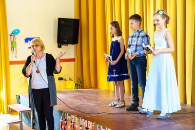 Fotoalbum Talenteshow in der Berg- Grundschule
