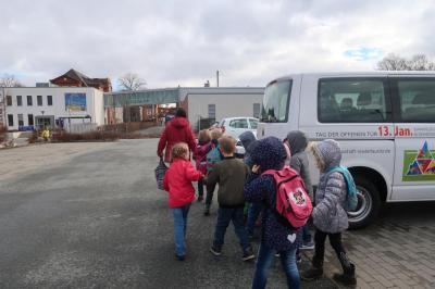 Fotoalbum Besuch in der Nudelfabrik 2018