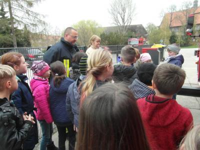 Fotoalbum Brandschutzerziehungstag in der Grundschule